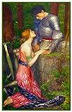 Orenco Originals Lamia Her Knight by John William Waterhouse punto croce, PA.