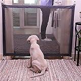 CAIGOGOO Pet Gate Portable Folding Safe Guard Innen- und Außenschutz Sicherheitstor(Pet Safety Enclosure)