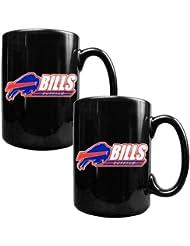 NFL Noir Mug en céramique Ensemble de nom d'équipe