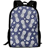 best& Stylish Pineapple Floral Vintage Laptop Backpack School Backpack Bookbags College Bags Daypack