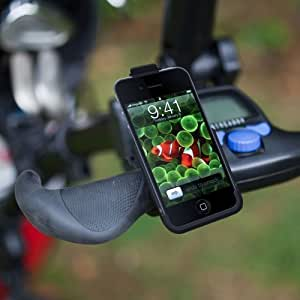 UltimateAddons Golf Trolley GPS Mount Holder for Apple iPhone 4 / 4G, fits most Golf Trolleys, including Motocaddy S1 and S3
