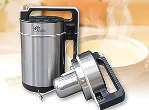 Gourmet SELF-CLEANING Automatic Soy Milk Maker and Juicer - Bonus 20 Packs of Tofu Coagulant