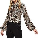Longra❤️❤️ Blusas Mujer Tallas Grandes Elegantes,Blusa Suelta con Estampado de...