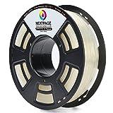 Nextpage 3D PLA Filament 1.75mm 1 KG für 3D Drucker Transparent