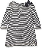 Petit Bateau Baby-Mädchen Kleid Robe ml SMO/CO 2665457, Mehrfarbig (Smoking/Coquille 57), 92 (Herstellergröße: 24m/86cm)