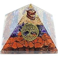 Humunize Amethyst mit Bleistift und Münzen Orgon Pyramide Chakra-Energie-Generator Reiki Stein Fen Shui Geschenk preisvergleich bei billige-tabletten.eu