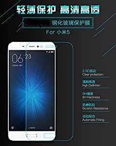 Case Creation TM 0.3mm Tempered Glass For Xiaomi Mi5 / Redmi Mi 5 (2016) 5.15 inch - the real MiCoy [Cutout for Proximity Sensor],9H Hardness, 0.3mm thickness,2.5D Curved Edge, Reduce Fingerprint, No Rainbow, Bubble Free & Oil Stains Coating with Alcohol wet cloth pad & clean micro fibre Dry cloth, Anti Explosion Tempered Glass Screen Protector For Xiaomi Mi5 / Redmi Mi 5 (2016) 5.15 inch - the real MiCoy