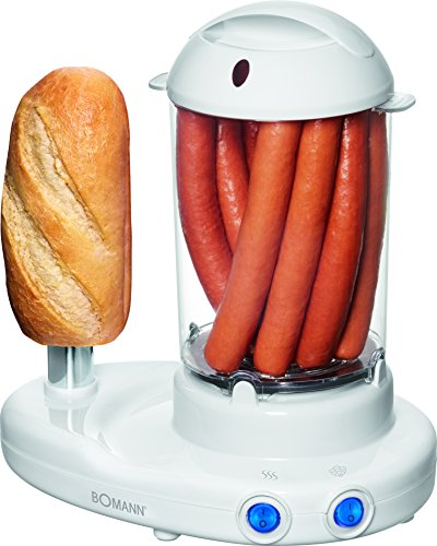 Bomann HDM 462 EK CB N Hot-Dog-Maker Weiß