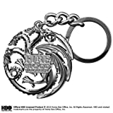 Noble Collection Taragaryen Sigil Keychain (gun metal)
