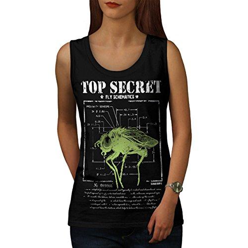 meilleur-secret-mouche-insecte-capteur-femme-nouveau-noir-l-debardeur-wellcoda
