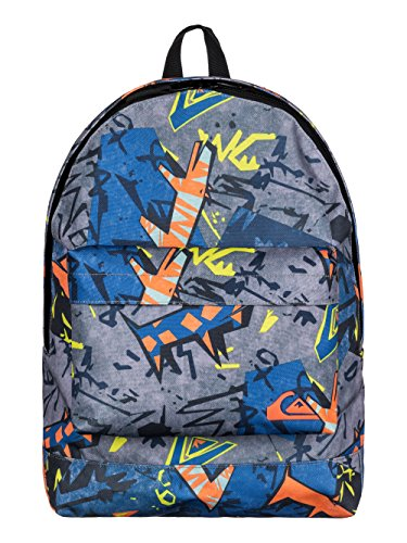 Quiksilver Everyday Poster - Mochila para hombre, multicolor (ghetto hero), talla única