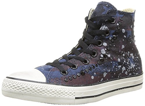 Converse Chuck Taylor All Star High Studded HI Navy 'Stars, Stripes and Light Gray Splashes' 142220C Limited Edition