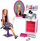 Barbie Sparkle Style Salon and Blonde Do...