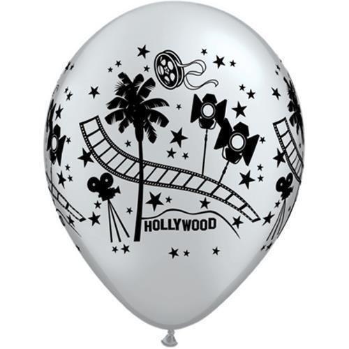 atex Latex Balloons x 5 by Hollywood/Movie Night ()