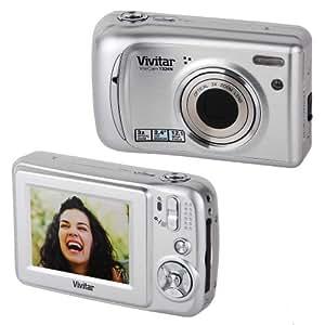 Vivitar T324 12.1Mp Camera Kit In Silver Silver