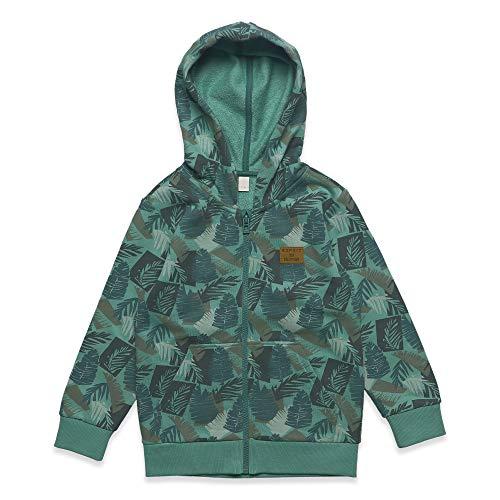 ESPRIT KIDS Jungen Card RN1708404 Sweatshirt, Grün (Soft Green 520), (Herstellergröße: 104+)