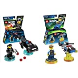 Warner Home Video - Lego Dimensions Lego Dimensions Rescue 911 Fun Pack Bundle Of 2 - Lego City Fun Pack (71266) & Bad Cop Fun Pack ( 71