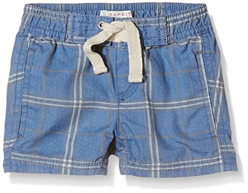 ESPRIT Baby - Jungen Short Tunis Canvas, Gr. 62, Blau (BRIGHT BLUE 410)
