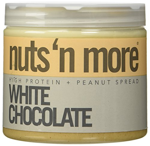 Nuts 'N More White Chocolate Peanut Butter 454 Gramm