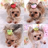 Best Show  Bee - Stock Show Cute Pet Dog Hair Clips Adorable Review