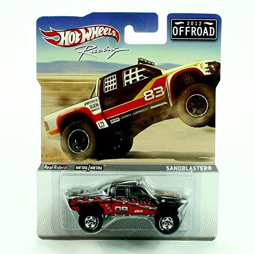 Hot Wheels Racing 2012 Offroad Sandblaster Black/Red (Hot Sandblaster Wheels)