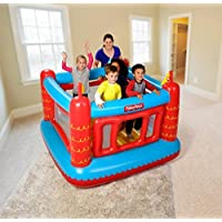 Fisher Price Inflatable Bouncy Castle Play House for Kids Children Jumper Game Toy