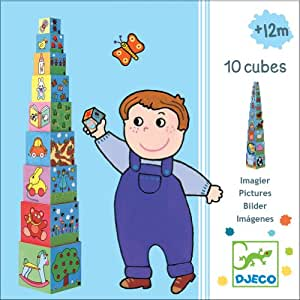 10 cubes imagiers Djeco