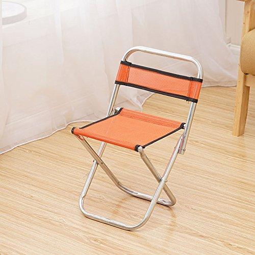 STJK$BMJW Klapphocker Für Kinder Stühle Malerei Outdoor Angeln Essen Camping Klappstuhl Orange Essen