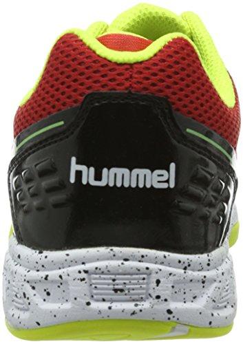 hummel CELESTIAL COURT X7 Unisex-Erwachsene Hallenschuhe - Mehrfarbig (Flame Scarlet 3015) Mehrfarbig (Flame Scarlet 3015)