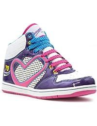 Pineapple Breakdance - Zapatillas de material sintético para mujer multicolor blanco/rosa