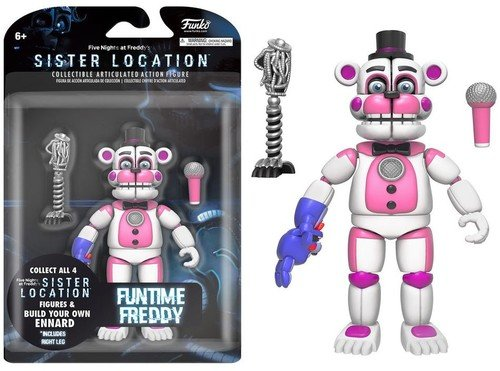 Funko 13741 Five nights Action Figure: Fnaf: ft Freddy