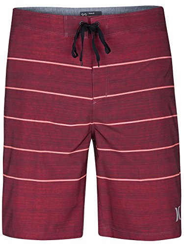 Herren Boardshorts Hurley Phantom Pinline Boardshorts gym red