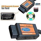 BV & Jo F-Interface-Super-Scanner für Ford und Fehlercodeleser: KA-Fiesta-Fusion -