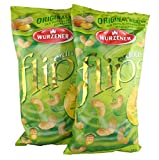 Erdnussflips 2 Tüten je 150g - Original Wurzener aus hochwertigem Mais und wertvollen Sonnblumenöl -