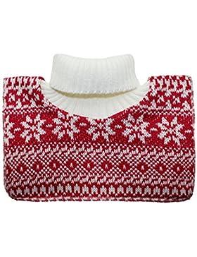 Fiebig Collar De Chal Los Muchachos Cuello Noruegos Cisne Ponerse El Invierno Térmica Para Niños (FI-77599-W16...