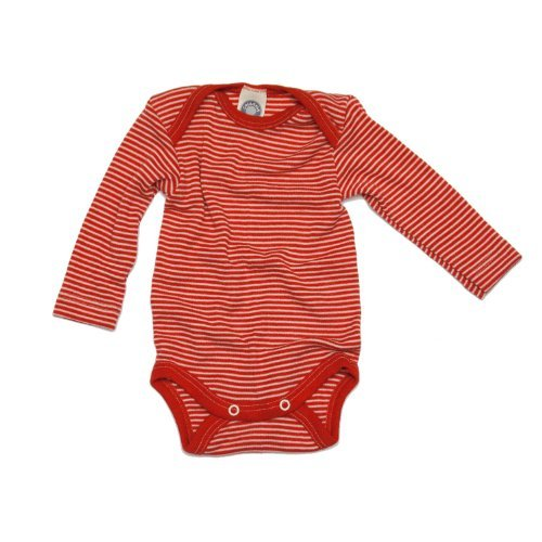 Cosilana Baby-Body, Wollbody, Größe 62/68