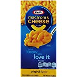 Kraft Macaroni and Cheese, 7.25 Ounce Boxes (Pack of 35) by Kraft