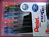 Best Pentel Ink Pens - Pentel Colour Roller Gel Pen (Multicolor) Review