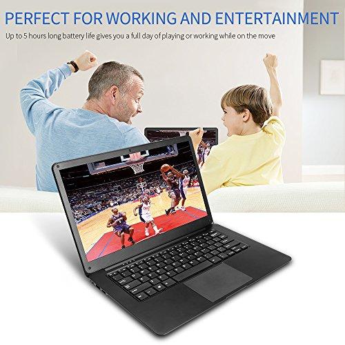 YUNTAB Z140C laptop Windows 10 Ultra slim Tablet 14 Zoll Intel Z8350 Quad-core 1.92 GHz 2 GB RAM 32 GB - 1366*768 Kamera 2 Mps Bluetooth 4.0 HDMI Mit Tastatur Holster einer Schwarz - 6