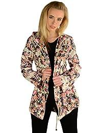 Layla Floral Fishtail Mac Raincoat