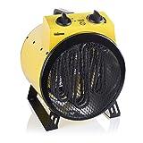 Tristar 2-in-1 Heizlüfter mit Ventilatorfunktion für Räume bis 30 m², 3,000 W, 1 Stück, gelb, KA-5047