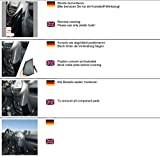 KUDA Telefonkonsole (LHD) für: BMW Mini Countryman ab 09/2010 / Mobilia/Kunstleder schwarz