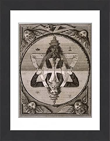 Framed Print Of God Of Light a Illusion