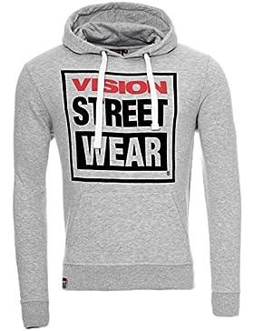 Vision Street Wear Pullover Hoody Jogginghose Kapuzen Sweatshirt Trainingshose