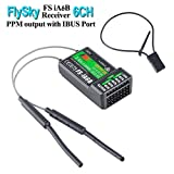 Flysky FS-iA6B Empfänger 6Kanal PPM Output mit iBus Port 2.4GHz RC Empfänger Receiver for i6 i6S i10 i6x Fernsteuerung Sender for FPV Racing RC Drone Quadcopter by LITEBEE
