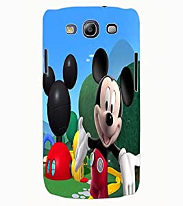 ColourCraft Lovely Cartoon Character Design Back Case Cover for SAMSUNG GALAXY S3 I9300