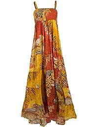 Coline - Robe longue coton