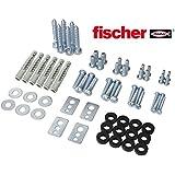 RICOO VESA Schrauben-Set inkl. Fischer®-UX10 Dübel SPZ0200-F Befestigungsmaterial für LCD Wandhalterung TV Fernseh-Halterung
