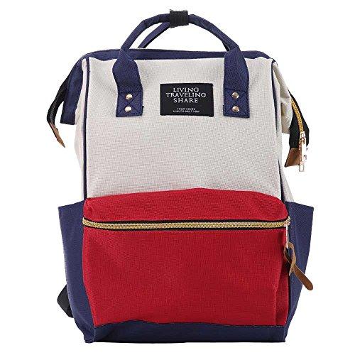 asserdicht Dauerhaft Schulterpackung Mode Frauen Rucksäcke Weibliche Denim Schultasche Für Jugendliche Mädchen Reisetasche ()
