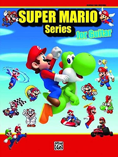 Super Mario Series for Guitar: Guitar Tab (Piano Noten Mario)